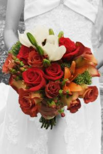 Fall bouquet by Janet Black AIFD