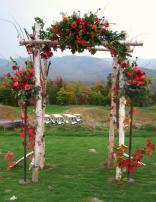 Sunday River Golf Course wedding by Janet Black