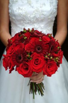 Janet Black created this bouquet for a lovely bride for her Maine wedding.